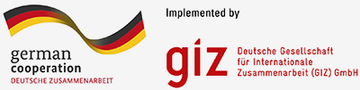 German cooperation and GIZ logo