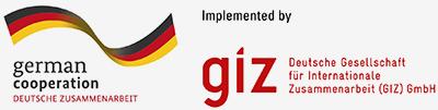 German cooperation and GIZ logo