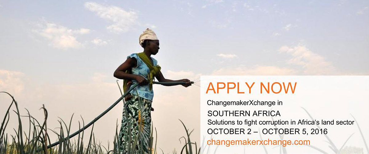 Calling all Southern African land activists and anti-corruption warriors!