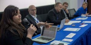 Panelists discuss the shadow economy. Image: Piero Locatelli