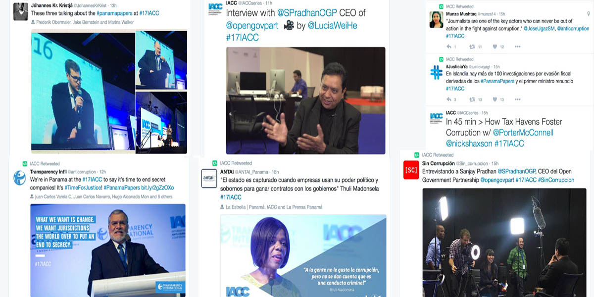 #17IACC day 1 highlights – tweets and pics