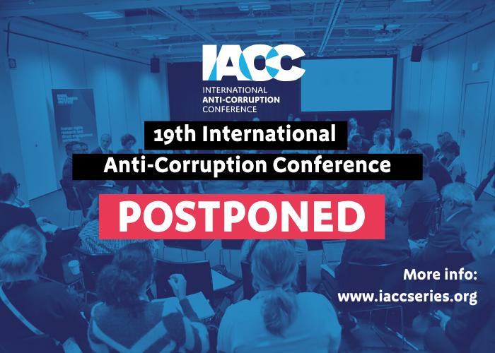 19th IACC postponed