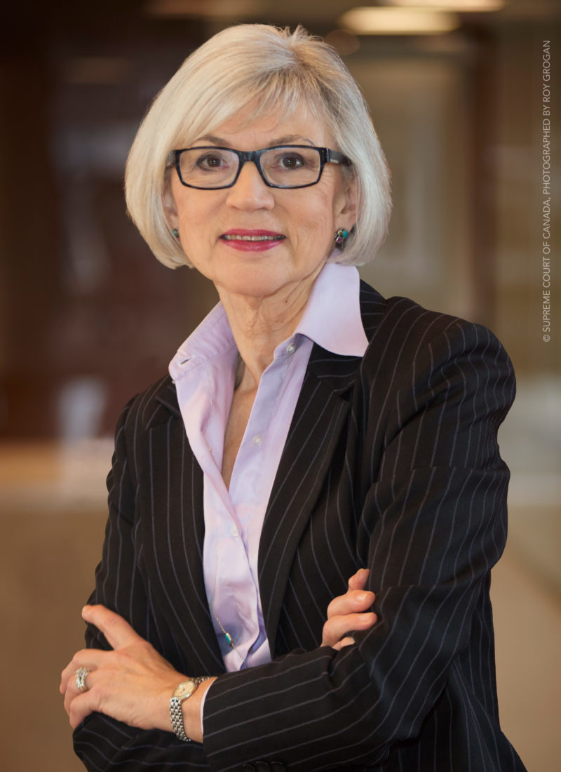 The Right Honourable Beverley McLachlin