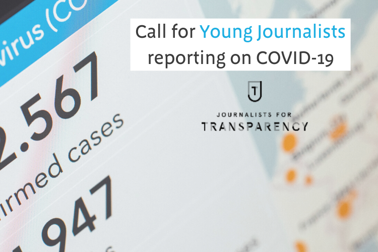J4T – Call for Young Journalists reporting on COVID-19